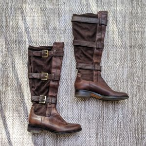 Cole Haan Nike Air Brown Riding Boots